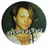 Bon Jovi - 'Jon Bon Jovi' Button Badge